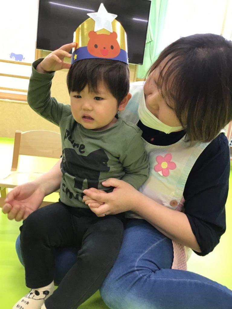 お誕生日会~♡ 4,5月生まれのお友達編