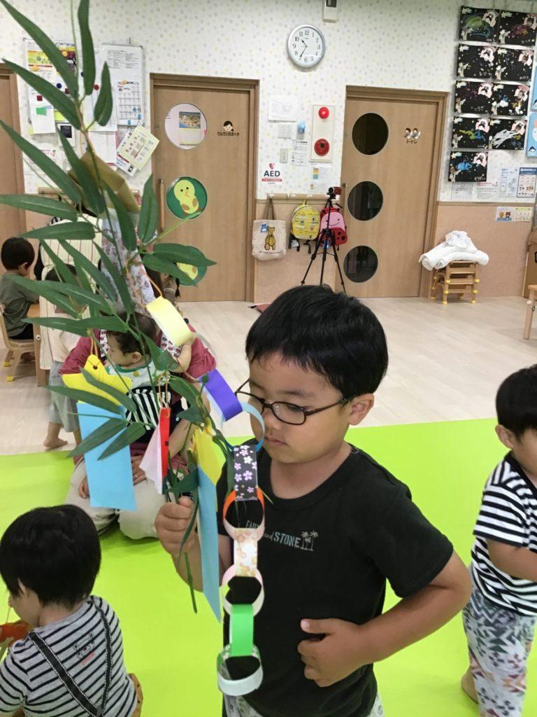 七夕誕生日会~♡ 6,7月生まれのお友達編